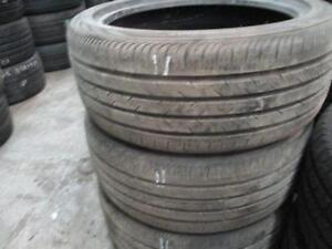235/40R19 CONTINENTAL 3 ONLY USED A/S TIRES