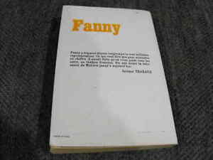 """French Language Paperback """"Fanny"""" by Marcel Pagnol London Ontario image 1"""