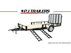 "16' x 83"" Channel Utility Trailer (U8)"
