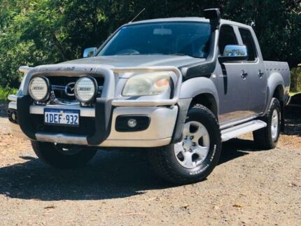2009 Mazda BT-50 08 Upgrade B3000 DX (4x4) Grey 5 Speed Automatic Dual Cab Pick-up Kenwick Gosnells Area Preview
