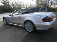 0404 MERCEDES-BENZ SL55 AMG 88K FSH 9 STAMPS, JUST SERVICED PANORAMIC GLASS ROOF
