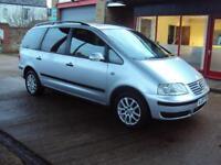 2007 VOLKSWAGEN SHARAN 1.9 TDI SE 115 Tip Auto