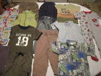 Vêtement garçon 24 mois avec marques connues (13 morceaux)