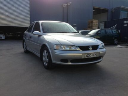 2001 Holden Vectra Jsii GL Silver 4 Speed Automatic Sedan Spotswood Hobsons Bay Area Preview