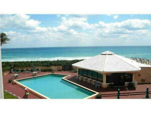 Palm Beach Ocean Front 1600 sq. ft. 3 Month Condo Rental