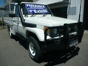 1998 Toyota Landcruiser HZJ75RP White 5 Speed Manual Cab Chassis Edwardstown Marion Area Preview