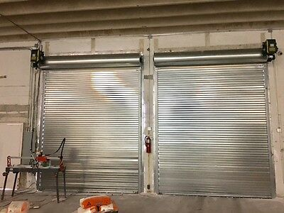 10 X 10 Rolling Steel Door - Heavy Duty 3 Slats Miami Dade County Noa Roll Up