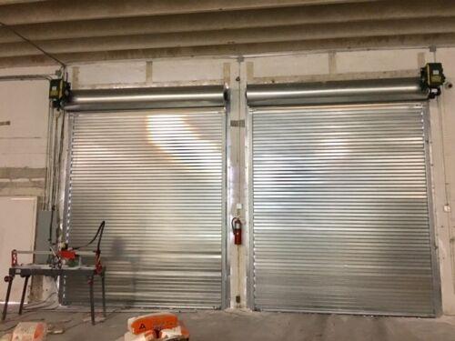 10 x 10 Rolling Steel Door - HEAVY DUTY 3
