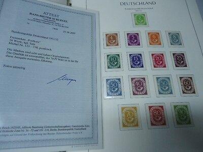 BUND DEUTSCHLAND 1949/2000- Sammlung mit Posthorn ** im Vordruck komplett! 7700€