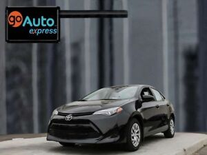 2017 Toyota Corolla LE, 4 Cylinder, Alloy Wheels, Accident Free,