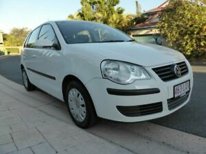 2007 Volkswagen Polo 9N MY07 Upgrade Match White 5 Speed Manual Hatchback Southport Gold Coast City Preview
