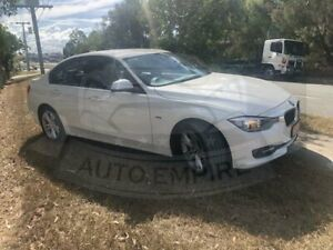 2013 BMW 320d F30 White 8 Speed Automatic Sedan Underwood Logan Area Preview