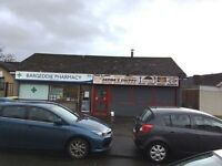 ****INDIAN TAKEAWAY/CHIP SHOP BUSINESS FOR SALE**** 54A Abercrombie Crescent BARGEDDIE G69 7SP