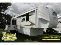 Used 2010 Forest River Silverback 35 K 5th Wheel