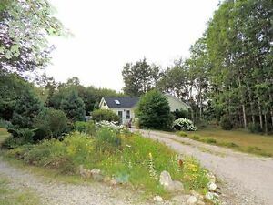 BUNGALOW ON OVER 2 ACRES OF PRIVATE LAND IN EAST RIVER