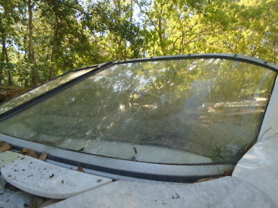 Regal 1900 LSR Boat PORT FRONT Windshield, THIS SINGLE PIECE ONLY