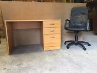 DESK + EXECUTIVE CHAIR for Sale