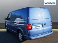 2017 Volkswagen Transporter 2.0 TDI BMT 102 Trendline Van Euro 6 Diesel blue Man