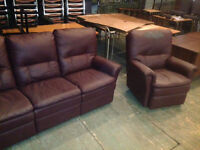 Reclining couch / chair set