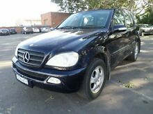 2001 Mercedes-Benz ML W163 270 CDI (4x4) Blue 5 Speed Auto Tipshift Wagon Georgetown Newcastle Area Preview