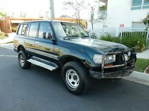 1993 Toyota Landcruiser HDJ80R GXL Green 5 Speed Manual Wagon Redcliffe Redcliffe Area Preview