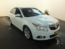 2013 Holden Cruze JH MY13 CD Equipe White 6 Speed Automatic Sedan Clemton Park Canterbury Area Preview