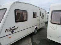 Bailey Pageant Touring Caravan