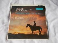 Vinyl LP Twilight On The Trail – Jimmie Rodgers Columbia 33SX 1217 Mono