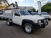 2012 Nissan Patrol MY11 Upgrade DX (4x4) White 5 Speed Manual Leaf Cab Chassis Mount Hawthorn Vincent Area Preview