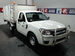 2011 Ford Ranger PK XL (4x2) White Tipper 2.5l RWD Cardiff Lake Macquarie Area Preview