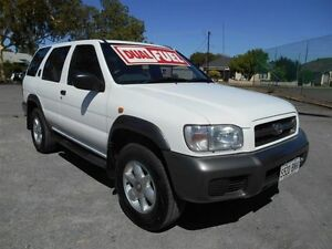 2000 Nissan Pathfinder ST (4x4) White 4 Speed Automatic 4x4 Wagon Nailsworth Prospect Area Preview