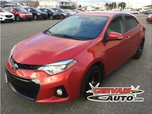 Toyota Corolla S Cuir/Tissus A/C MAGS 2014