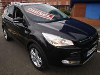 64 FORD KUGA 2.0 ZETEC TDCI 5 DOOR DIESEL HATCH SAT NAV