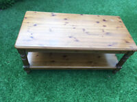 Ducal Victoria Antique Solid Pine Coffee Table