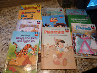 Collection of 10 Walt Disney's world of Reading Books:
