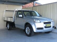 2010 Great Wall V240 K2 (4x4) Silver 5 Speed Manual Cab Chassis Condell Park Bankstown Area Preview