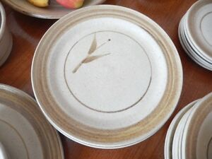 Alan Moon pottery dish set