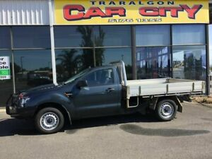 2012 Ford Ranger PX XL 2.2 Hi-Rider (4x2) Grey 6 Speed Manual Cab Chassis Traralgon Latrobe Valley Preview