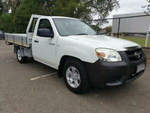 2010 Mazda BT-50 UNY0W4 DX White 5 Speed Manual Cab Chassis Granville Parramatta Area Preview
