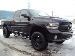 2014 Ram 1500 Sport LIFT KIT 4X4 HEATED SEATS RUNNING BOARDS