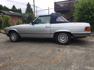 1981 Mercedes 280SL Roadster    $14,500.00