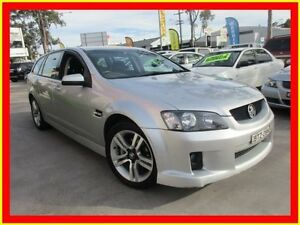2008 Holden Commodore VE MY09 SV6 Silver 5 Speed Automatic Wagon North Parramatta Parramatta Area Preview