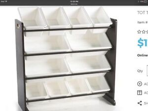 Basically New Toy Organizer Pristine Condition