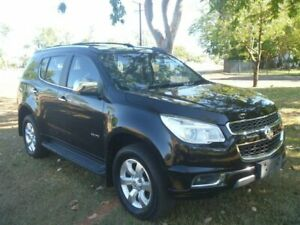 2012 Holden Colorado 7 RG MY13 LTZ Black 6 Speed Sports Automatic Wagon Winnellie Darwin City Preview