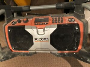 Ridgid Construction Site Radio with IPod connector