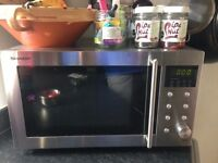 Sharp Microwave Oven in Stainless Steel (R28STM) 800W 23 Litre