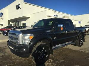 2014 Ford F-350 Platinum Diesel SWB w/Levelling Kit + Rims/Tires