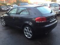 Audi A3 2.0 Tdi, 6 Speed Manual, 2004, 8p Coupe Breaking For Parts