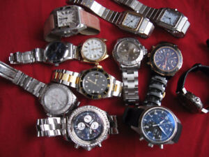 WE BUY OLD WATCHES, FREE ESTIMAT...GOLD $$$,,, ACHAT..VENTE...$$