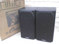 75W Mission M731 Stereo Speakers + Original Box - Heathrow